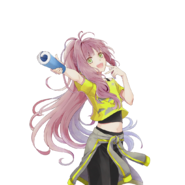 (Yumeiro Cast Collaboration) Kokoro Hanabusa SR Transparent