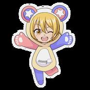 (Kumakocho Costume) Hikaru Orihara SD Jump