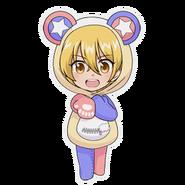 (Kumakocho Costume) Hikaru Orihara SD Pose