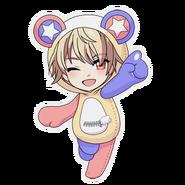 (Kumakocho Costume) Saku Uruha SD Jump