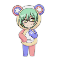(Kumakocho Costume) Shiki Amabe SD Pose