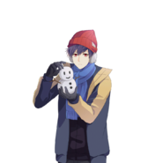 (Snowy Day Scout) Lucas SR Transparent
