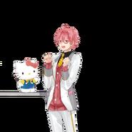 (I-Chu x Hello Kitty Scout) Kyosuke Momoi LE Transparent