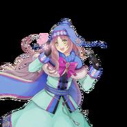 (Snowy Day Scout) Kokoro Hanabusa UR Transparent
