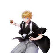 (New Year Scout) Seiya Aido SR Transparent