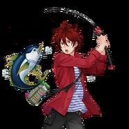 (RPG Scout) Torahiko Kusakabe SR Transparent
