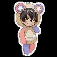 (Kumakocho Costume) Akira Mitsurugi SD Pose