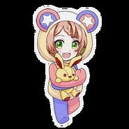 (Kumakocho Costume) Kanata Minato SD Pose