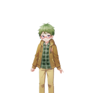 (Momoiro Hero Momoi-kun) Wakashi Edajima N Transparent