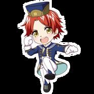 (3rd Anniversary Scout) Tatsumi Madarao SD Jump