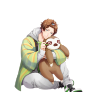 (KING OF ICHU 2) Futami Akabane SR Transparent