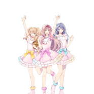 (POP'N STAR Live Commemoration Scout) Kokoro Hanabusa GR Transparent