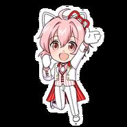 (I-Chu x Hello Kitty Scout) Kyosuke Momoi SD Jump