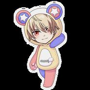 (Kumakocho Costume) Saku Uruha SD Pose