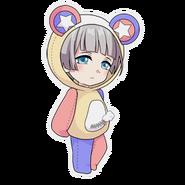 (Kumakocho Costume) Baber SD Pose
