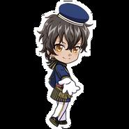 (3rd Anniversary Scout) Akira Mitsurugi SD Walk