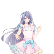 (POP'N STAR Live Commemoration Scout) Runa Kagurazaka LE Transparent