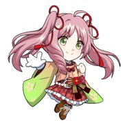 (New Year 2018 Scout) Kokoro Hanabusa SD Walk