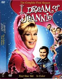 Jeannie Season 1 DVD cover