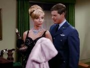 I Dream Of Jeannie episode 1x13 - Russian Roulette - Tony with Sonya