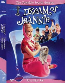 Jeannie Season 4 DVD cover