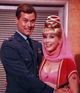 I dream of jeannie hagman eden tony & jeannie