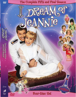 Jeannie Season 5 DVD cover
