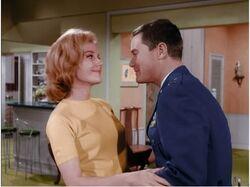 I Dream Of Jeannie episode 1x12 - Where'd Yo Go Go - Tony with date Diane