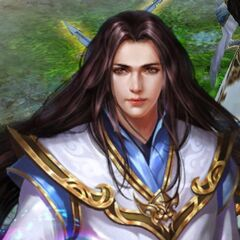 Game depiction of Meng Hao