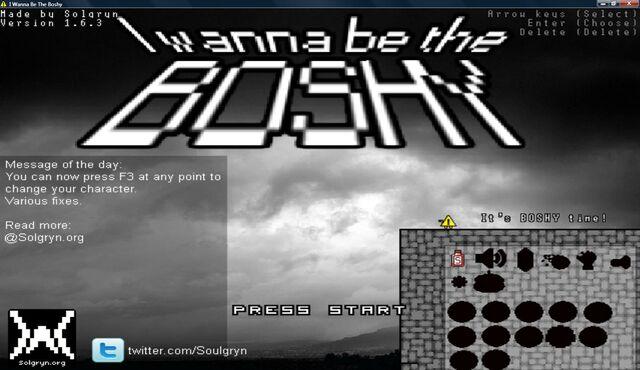 File:I Wanna Be The Boshy Title Screen.jpg