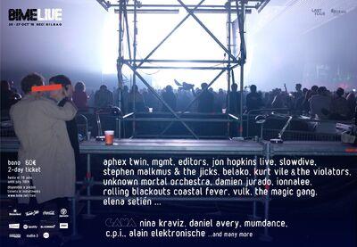 ionnalee; EABF tour - BIME Live 2018 promo