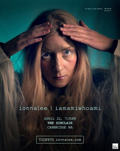 ionnalee; RTF tour - The Sinclair promo