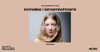 ionnalee - iamamiwhoami KRONOLOGI tour - Metro promo
