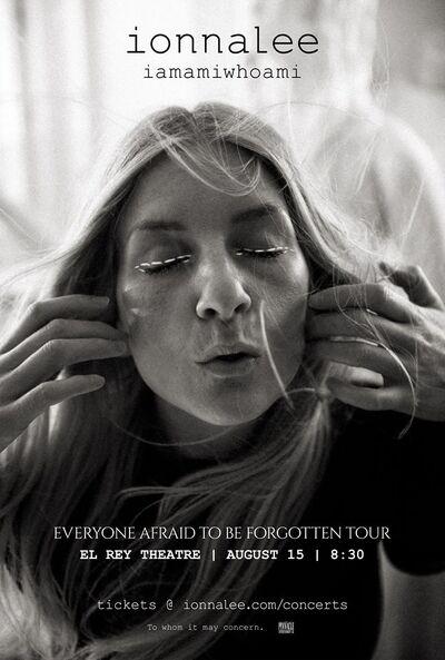 ionnalee; EABF tour - El Rey Theatre promo