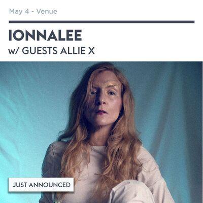 ionnalee; RTF tour - VENUE promo