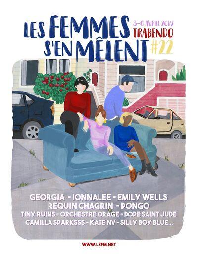 ionnalee; EABF tour - Les Femmes Sen Melent promo