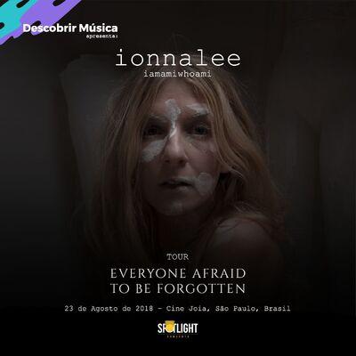 ionnalee; EABF tour - Cine Joia promo