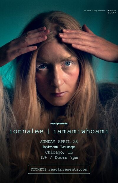 ionnalee; RTF tour - Bottom Lounge (RTF tour 2019) promo
