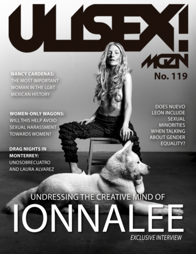 Ulisex!Mgzn issue 119 ionnalee cover