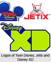 4 Logos of Toon Disney Jetix and Disney XD