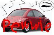 Pewwy car