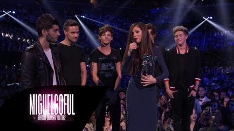 One Direction - Presents Best Pop Video Selena Gomez MTV VMAs 2013