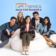 I Am Frankie Back for Season 2