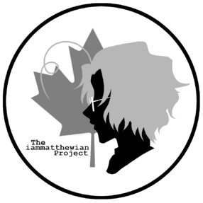 IAM Cast and Crew Logo (Greyscale)