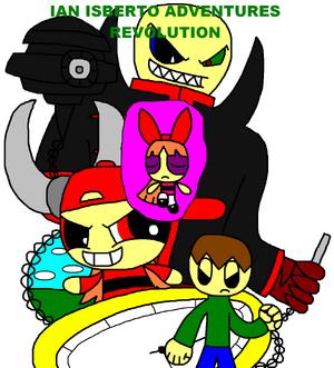 Ian Isberto Adventures Revolution