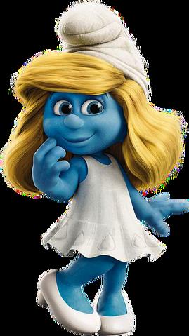 File:Smurfette movie.png