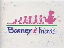 Barney & Friends Logo 1992