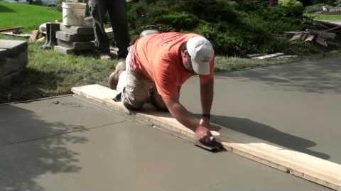 How to Pour Concrete Driveway