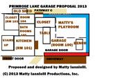 Primrose lane garage proposal