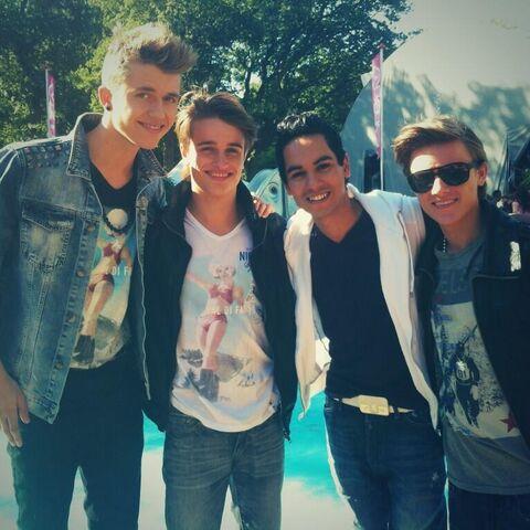 Ian, Ralf, Jeronimo and Dioni